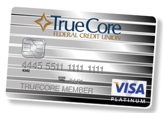 VISA Credit Cards › TrueCore Federal Credit Union